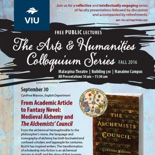 Fall 2016 Colloquium Series Poster