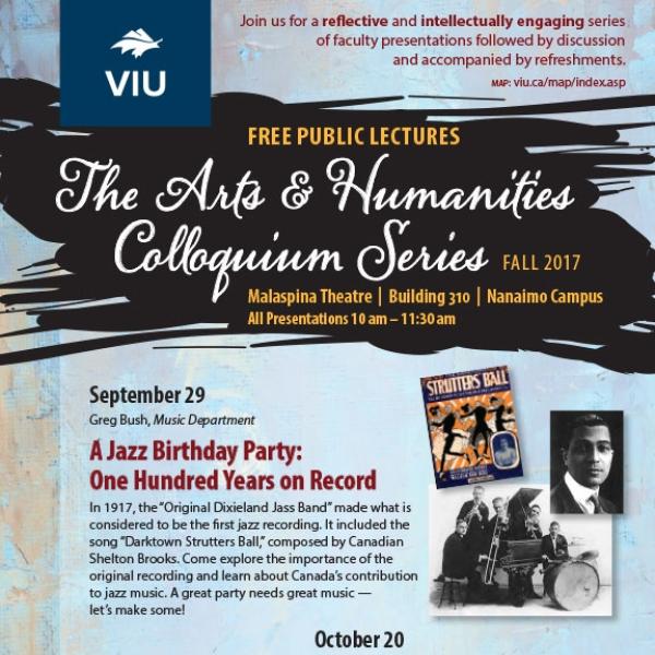 Fall 2017 Colloquium Series Poster
