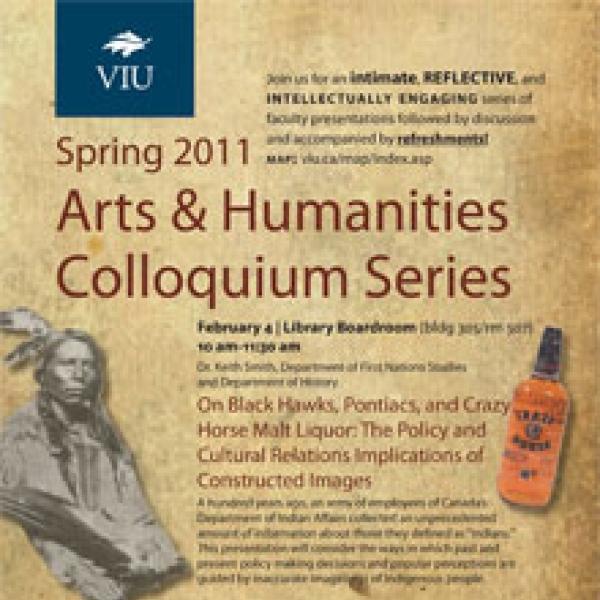 Spring 2011 Colloquium Series Poster