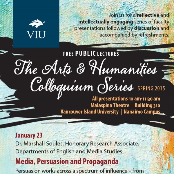 Spring 2015 Colloquium Series Poster