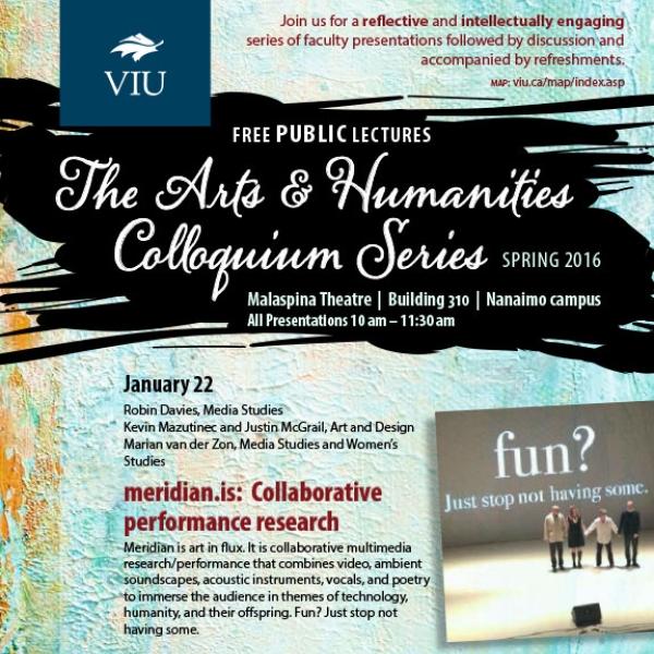 Spring 2016 Colloquium Series Poster