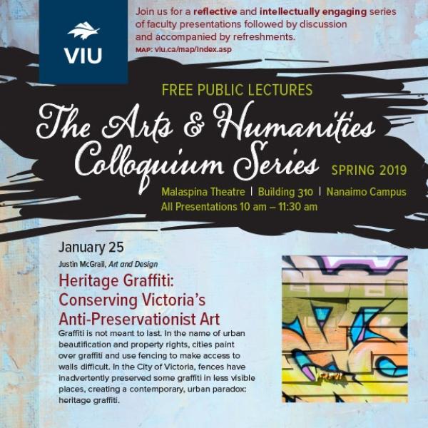 Spring 2019 Colloquium Series Poster