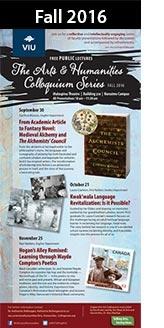 Colloquium Series Fall 2016