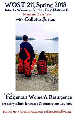 VIU WOST 211 - Introduction to Women's Studies, First Nations II